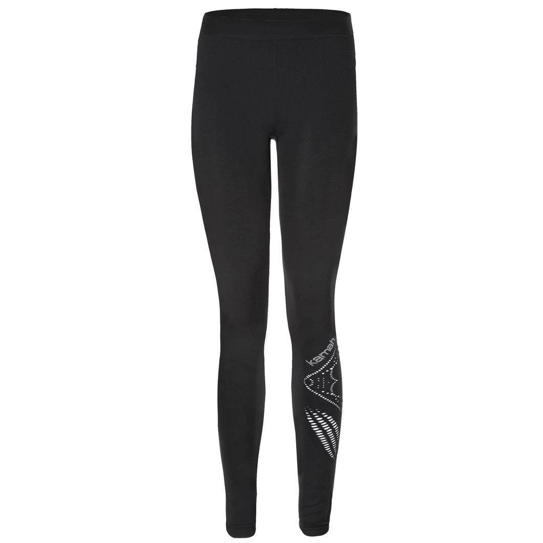 Yoga-Leggings SAFIRA, Schwarz
