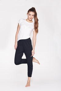 Yoga Pants Loose Soft Black von Yoiqi