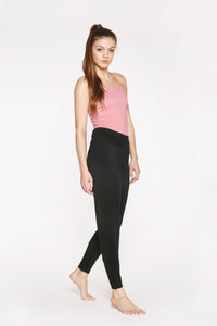 Yoga Slim Pants Soft Black von Yoiqi