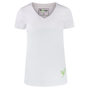 "Yoga T-Shirt Basic ""White"""