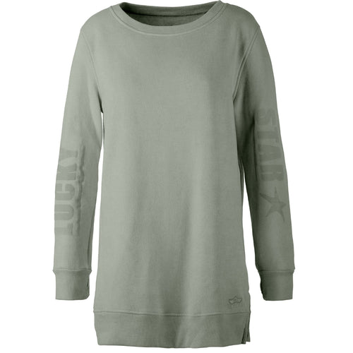 Yoga Sweatshirt TIFFANY, Schilf