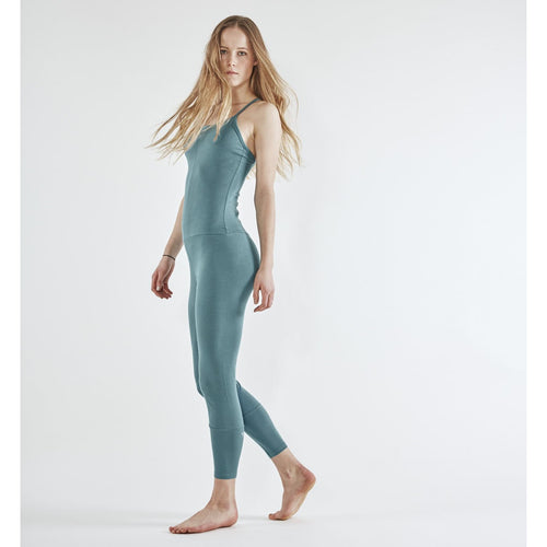 Yoga Jumpsuit Cross CYAN
