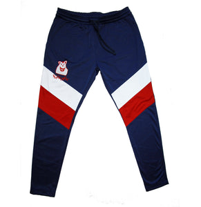 Old School Slim Fit Track Pants - Navy