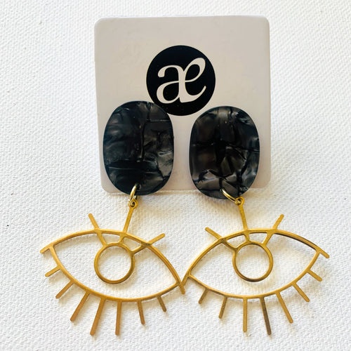 Eye Candy // Acrylic Earrings