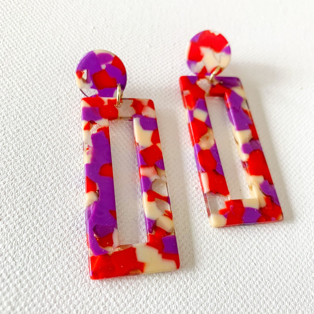 Summer Fun // Acrylic Earrings