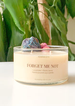 Load image into Gallery viewer, Forget Me Not Candle: Apatite