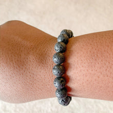 Load image into Gallery viewer, Magma // Lava bead bracelet