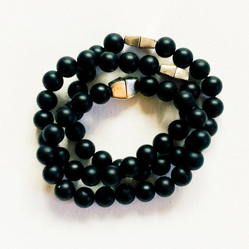 Lights Out // Onyx Bracelet