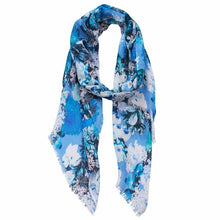 Load image into Gallery viewer, Carmen Flower scarf