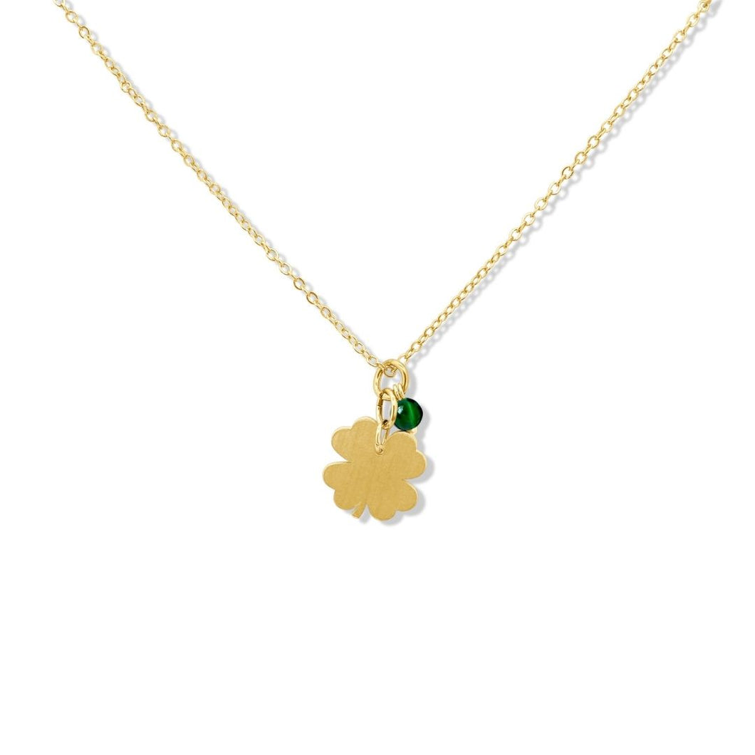 Leaf Clover Necklace