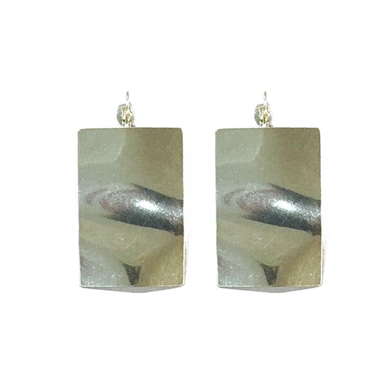 Ripple Rectangle Earrings