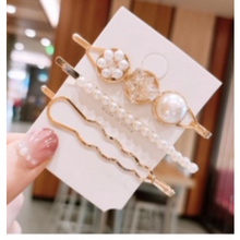 Load image into Gallery viewer, Hair Pearl  clip set