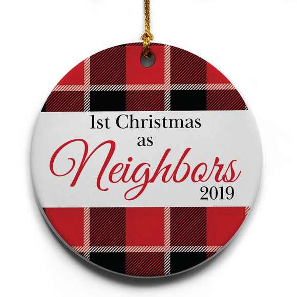 1st Christmas as Neighbors