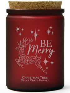 Be Merry | Christmas Tree | 100% Soy Wax Candle