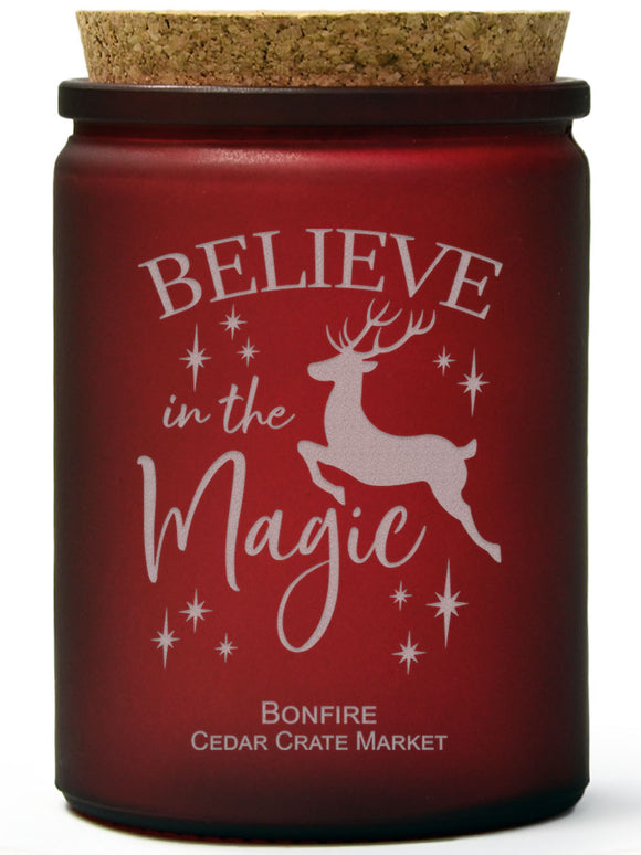 Believe in the Magic | Bonfire | 100% Soy Wax Candle