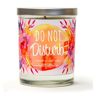 """Do Not Disturb"" 