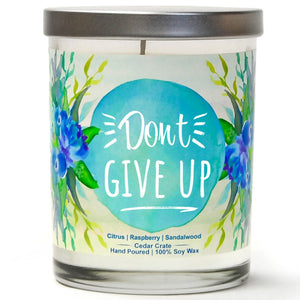 """Don't Give Up"" 