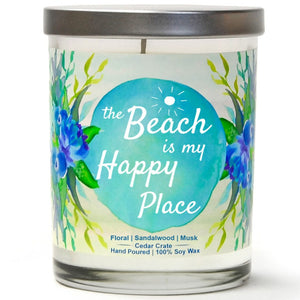 """The Beach is My Happy Place"" 