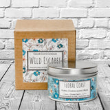 Wild Escapes | Floral Coast | 100% Soy Wax Candle