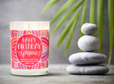 """Happy Birthday Gorgeous"" 