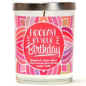 """Hooray! it's your Birthday"" 