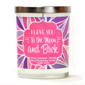 """I Love You To The Moon And Back"" 