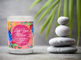 Love You More | French Cade Lavender | 100% Soy Wax Candle