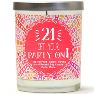 """21 Get Your Party On!"" 