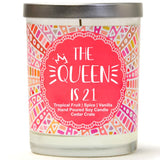 """The Queen is 21"" 