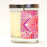 """Birthday Girl!"" Wine Glass and ""Gonna Party Like It's My Birthday"" Bamboo Forest Candle Gift Set"