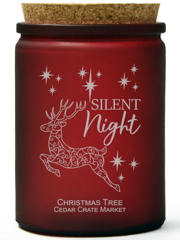 Silent Night | Christmas Tree | 100% Soy Wax Candle