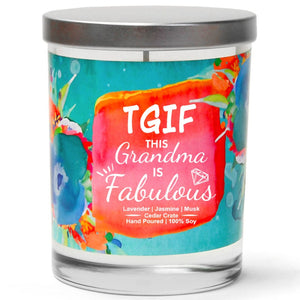"""TGIF This Grandma is Fabulous"" 
