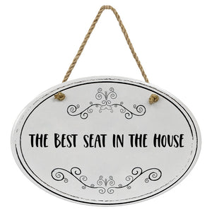 """The Best Seat In The House"" Black & White 