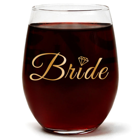 Bride | 15oz Stemless Wine Glass