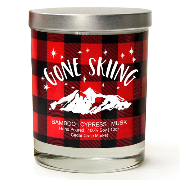 Gone Skiing | Bamboo Forest | 100% Soy Wax Candle