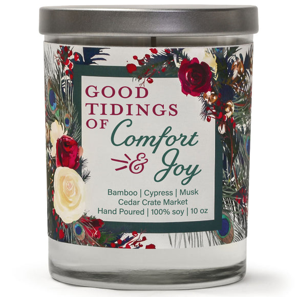 Good Tidings of Comfort & Joy | Bamboo Forest | 100% Soy Wax Candle