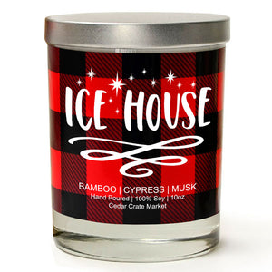 Ice House | Bamboo Forest | 100% Soy Wax Candle