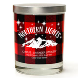 Northern Lights | Lavender and Lemongrass | 100% Soy Wax Candle