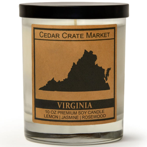 Virginia | Jasmine Blossom | 100% Soy Wax Candle