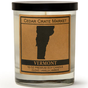 Vermont | Toasted Marshmallow | 100% Soy Wax Candle