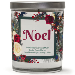 Noel | Bamboo Forest | 100% Soy Wax Candle