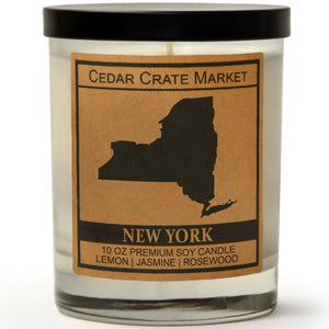 New York | Jasmine Blossom | 100% Soy Wax Candle