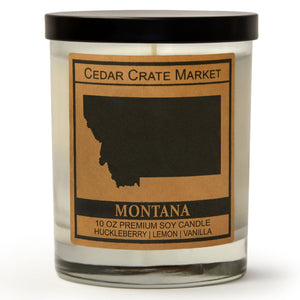 Montana | Wild Huckleberry | 100% Soy Wax Candle