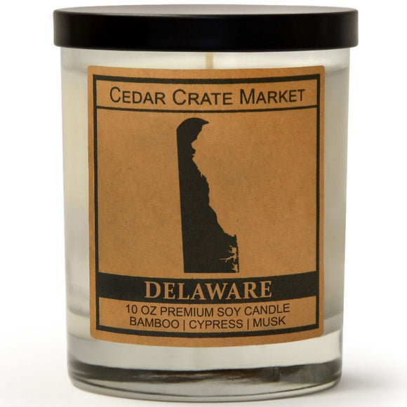 Delaware | Bamboo Forest | 100% Soy Wax Candle