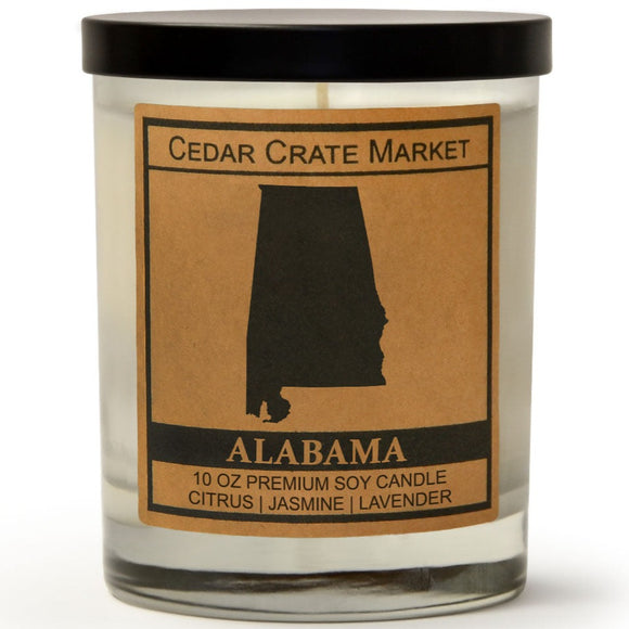 Alabama | French Lavender | 100% Soy Wax Candle