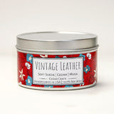 Wild Escapes | Vintage Leather | 100% Soy Wax Candle