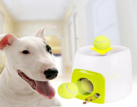 Interactive Ball Launcher & Treat Dispenser