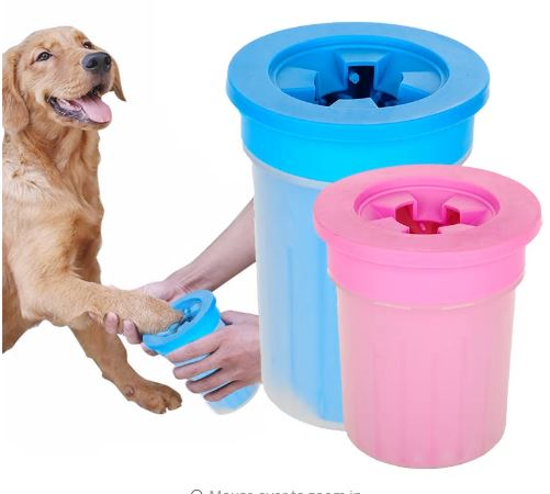 Paw cleaning cup