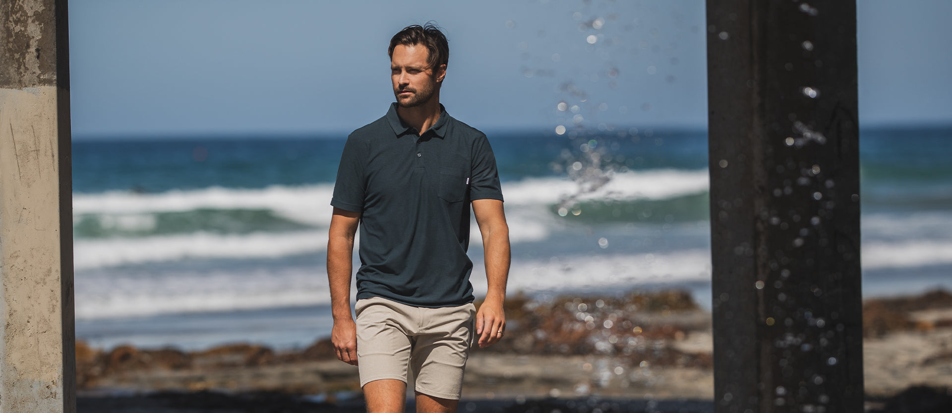 Ace Polo | Saltwater Red Image