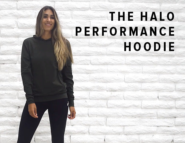 Halo Performance Hoodie | Heather Grey Image